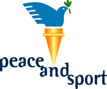 logo peace and sport